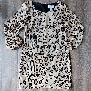 BELLE BADGLEY MISCHKA   Cheetah Print Dress Sz 6
